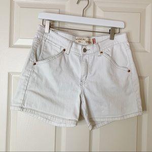 Levi's 515 Distressed Denim Shorts